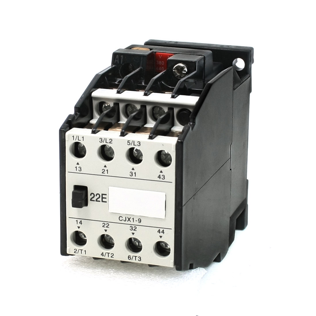 380V/440V Rated Coil Voltage 3 Phase 2NO+2NC CJX1-9/22 Model AC Contactor