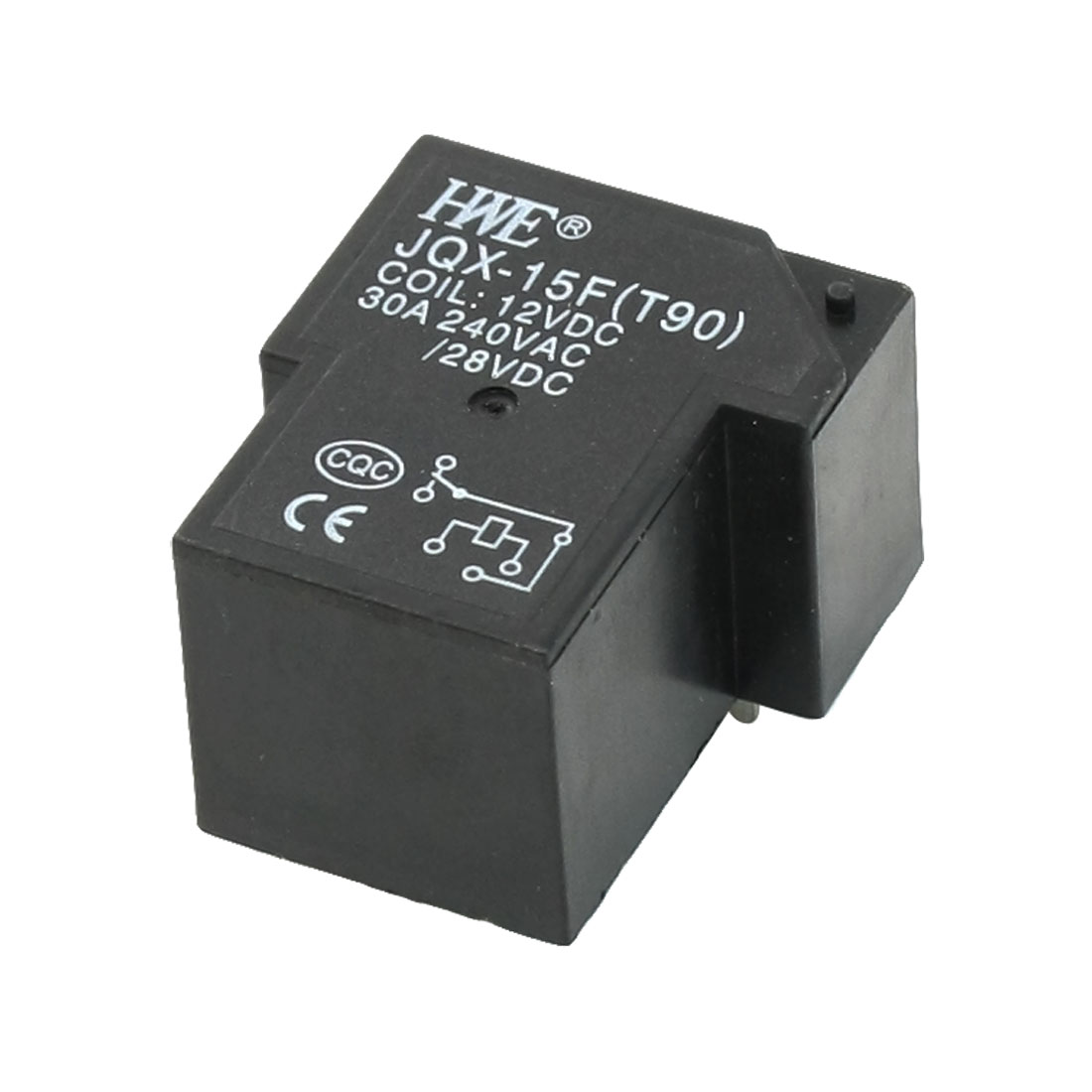 DC 12V Coil 30A AC 240V/28VDC Contact 6 Pin Miniature Relay