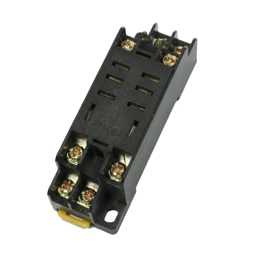 PYF08A 8 Terminals 3mm DIN Rail Power Relay Socket Base Holder for HH52P