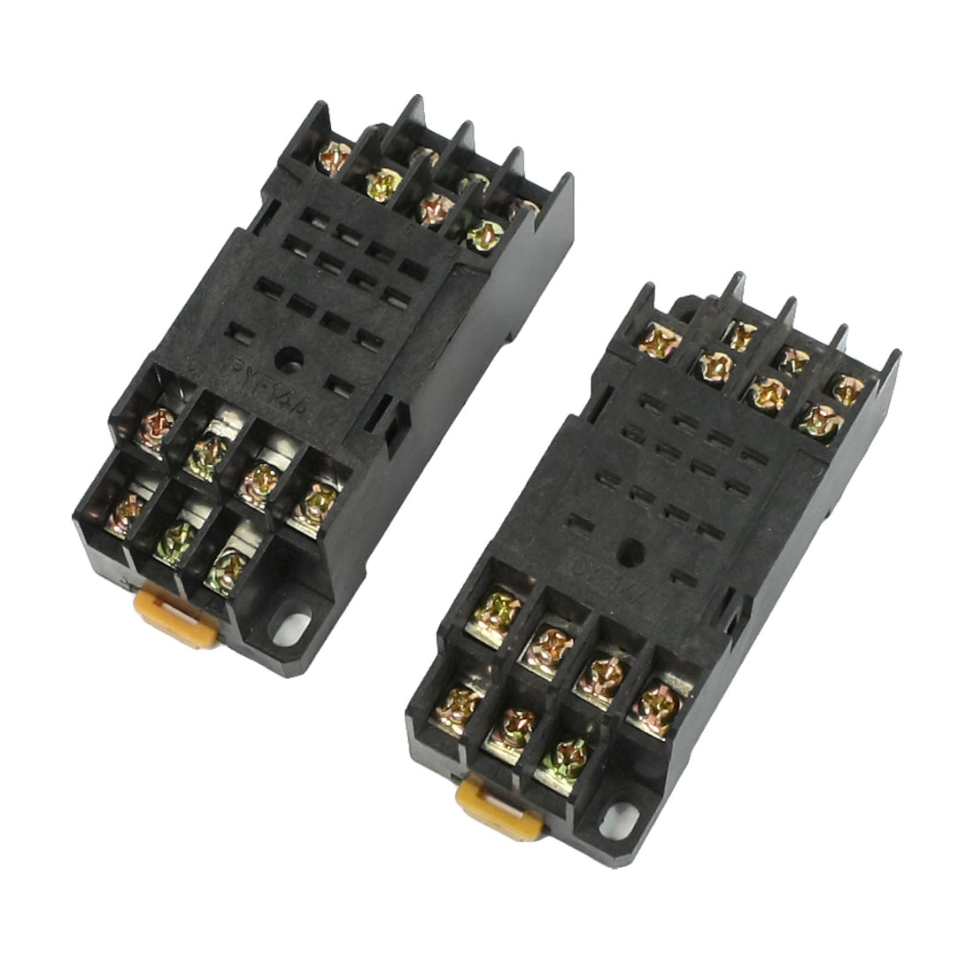 Replacing 2 Pcs PYF14A 14 Pins 35mm Mounting Rail Relay Socket Base for H3Y-4