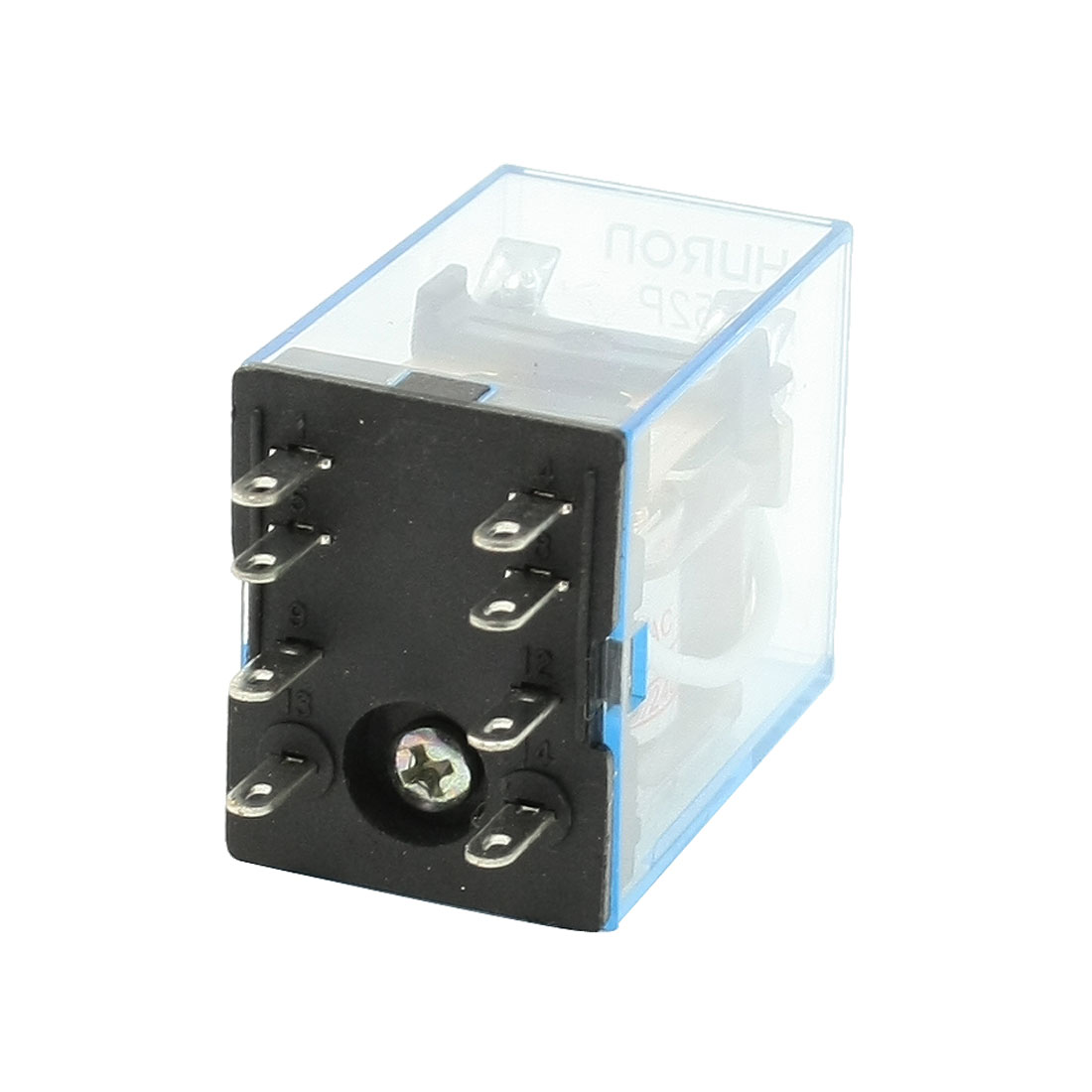 HH52P AC 220V Coil 8-Pin Terminal DPDT LED Electromagnetic Relay