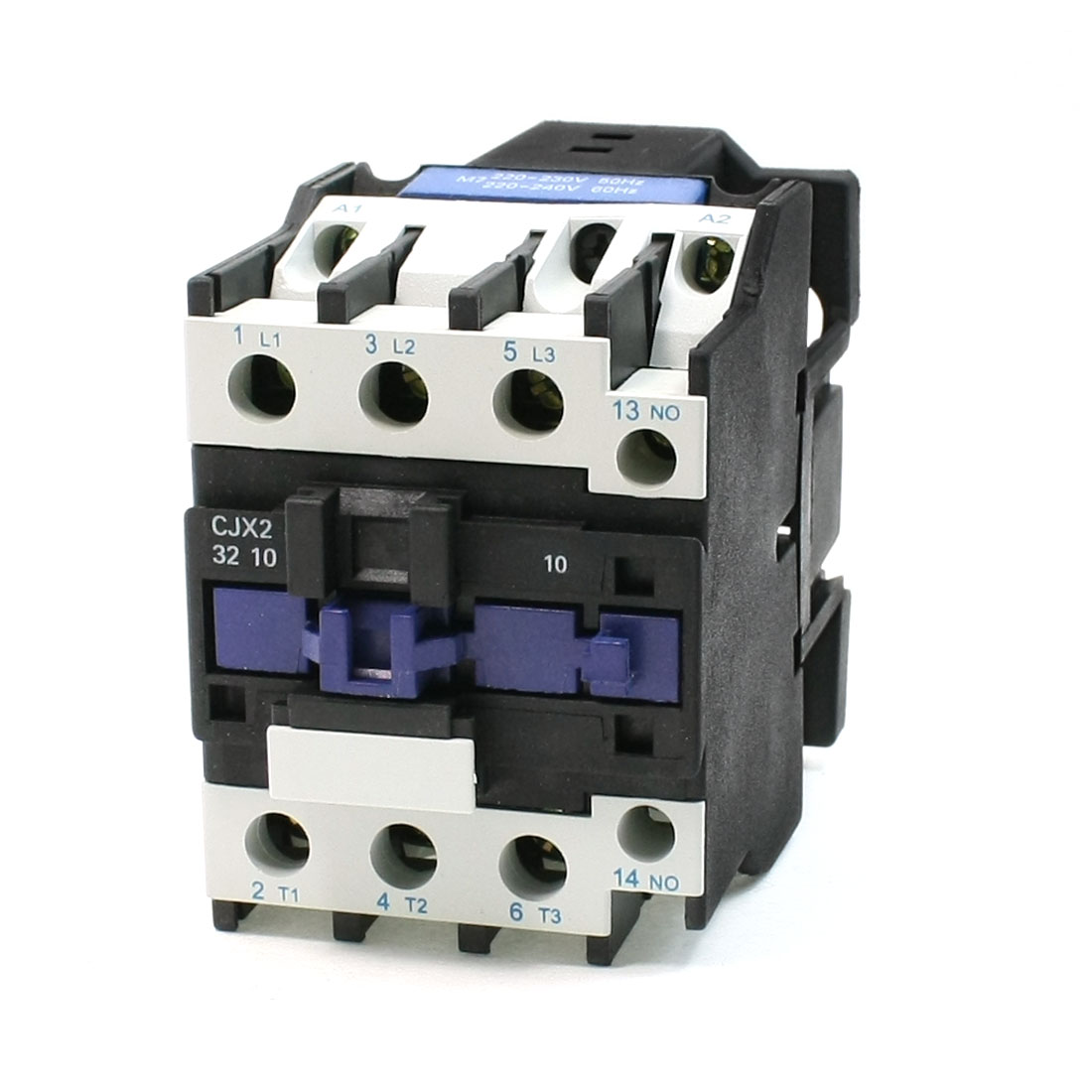 50/60Hz 220V 50A 35mm DIN Rail 3P 1NO 1NC 36V AC Contactor CJX2-32