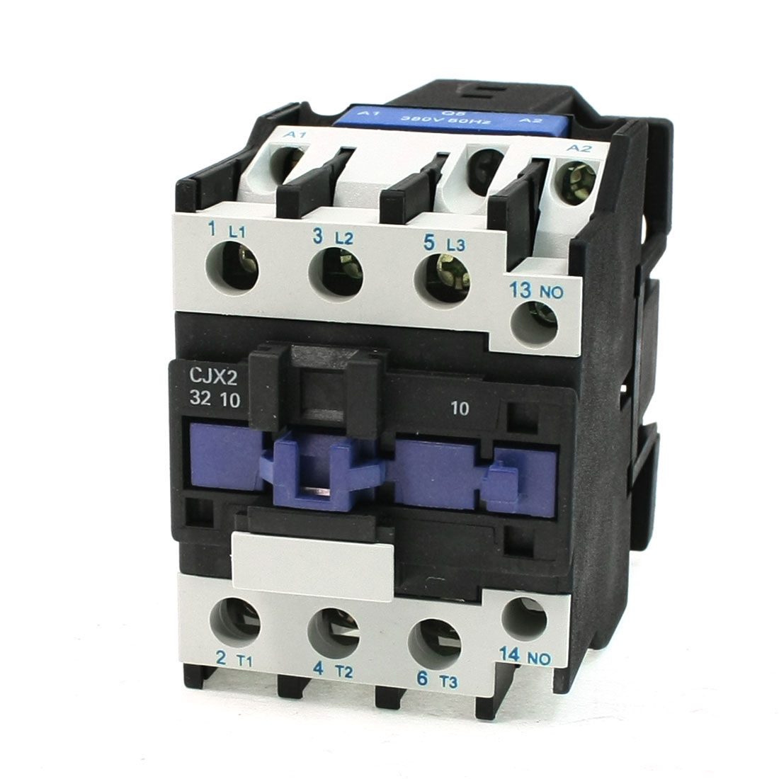CJX2-32 380V Coil 50A DIN Rail 3P Three Pole 1NO 1NC 220V AC Contactor