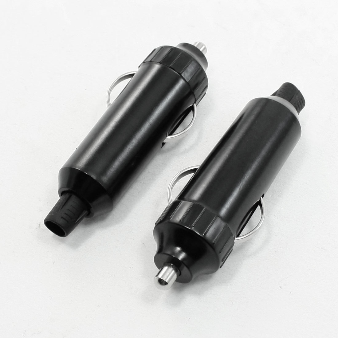 2 Pcs Universal Auto Car Cigarette Lighter Plug DC 12-24V