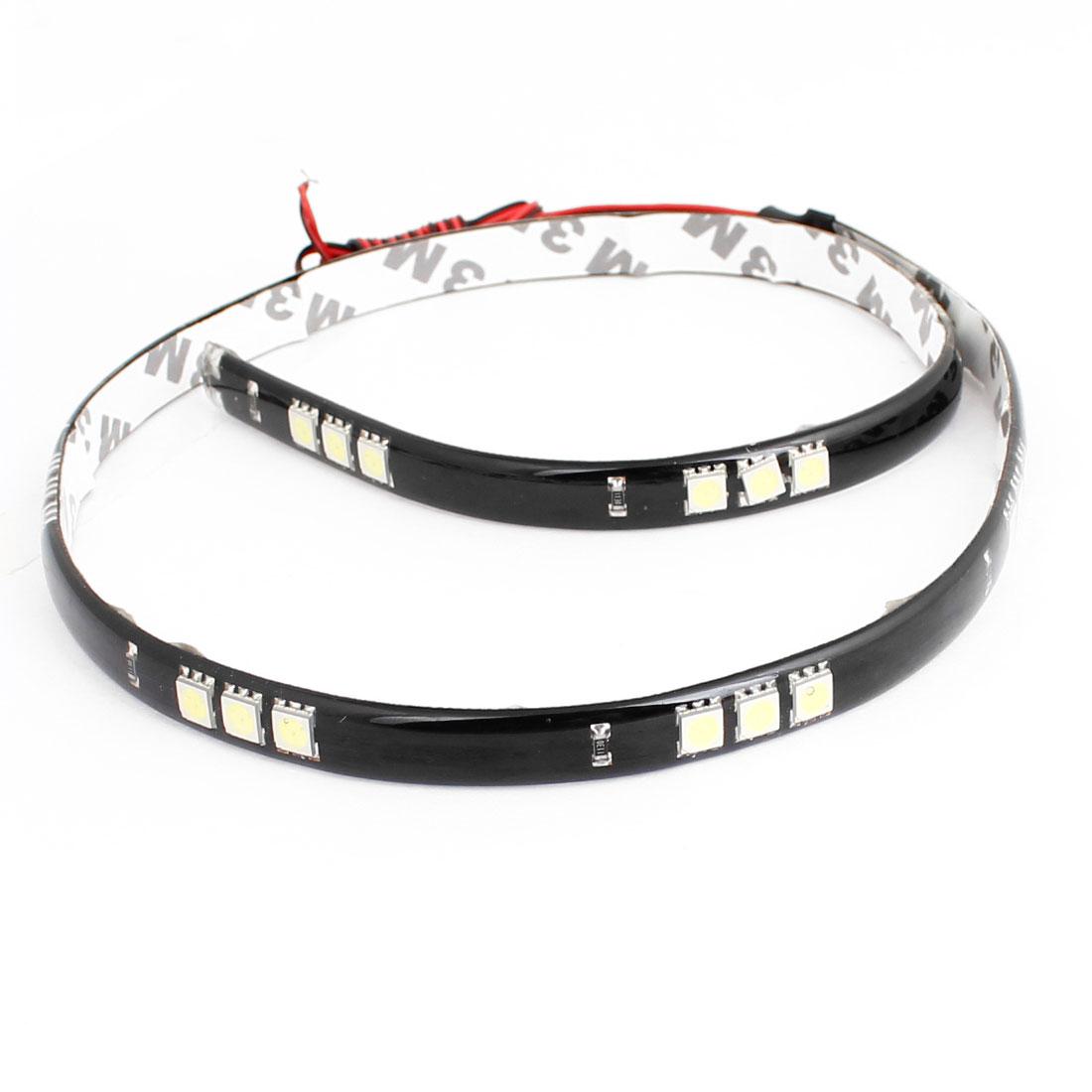 Truck Car White 5050 SMD 30 LEDs 60cm Decorative LED Lamp Strip