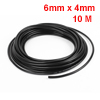 10M 32.8Ft 6mm x 4mm Pneumatic Air PU Hose Pipe Tube Black