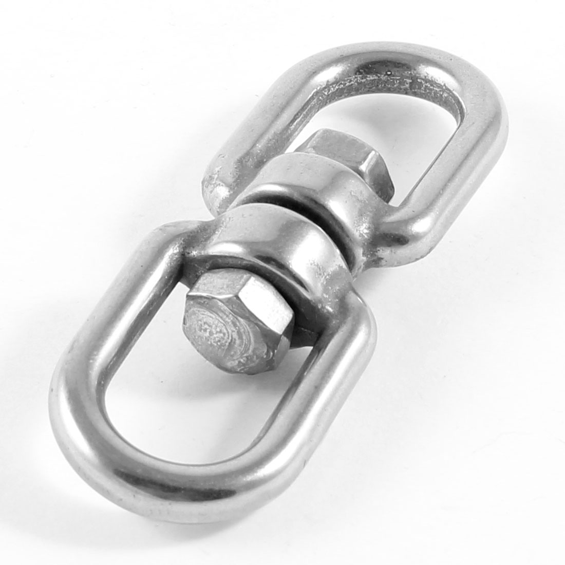 "Stainless Steel 5mm 1/5"" Eye to Eye Swivel for Marine Mooring"