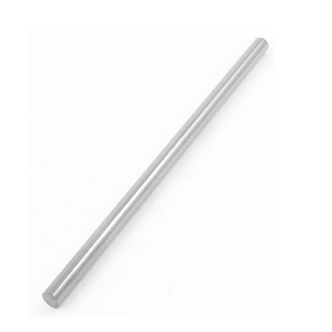 2.8mm x 102mm Graving Tool Round Turning Lathe Bars Silver Tone