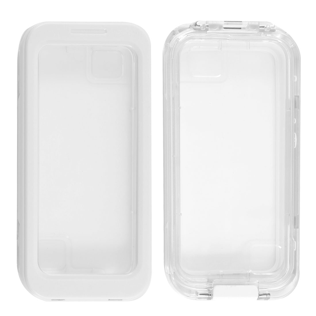 White Waterproof Snow Proof Case Cover Protector for iPhone 4 4G 4S 5 5G 4GS