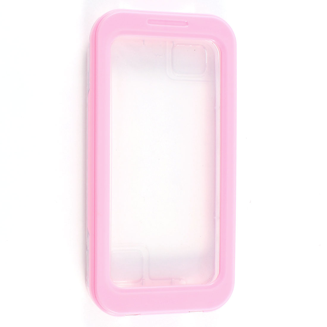 Pink Waterproof Sandproof Dirt Proof Case for iPhone 4 4G 4S 5 5G 4GS w Strap