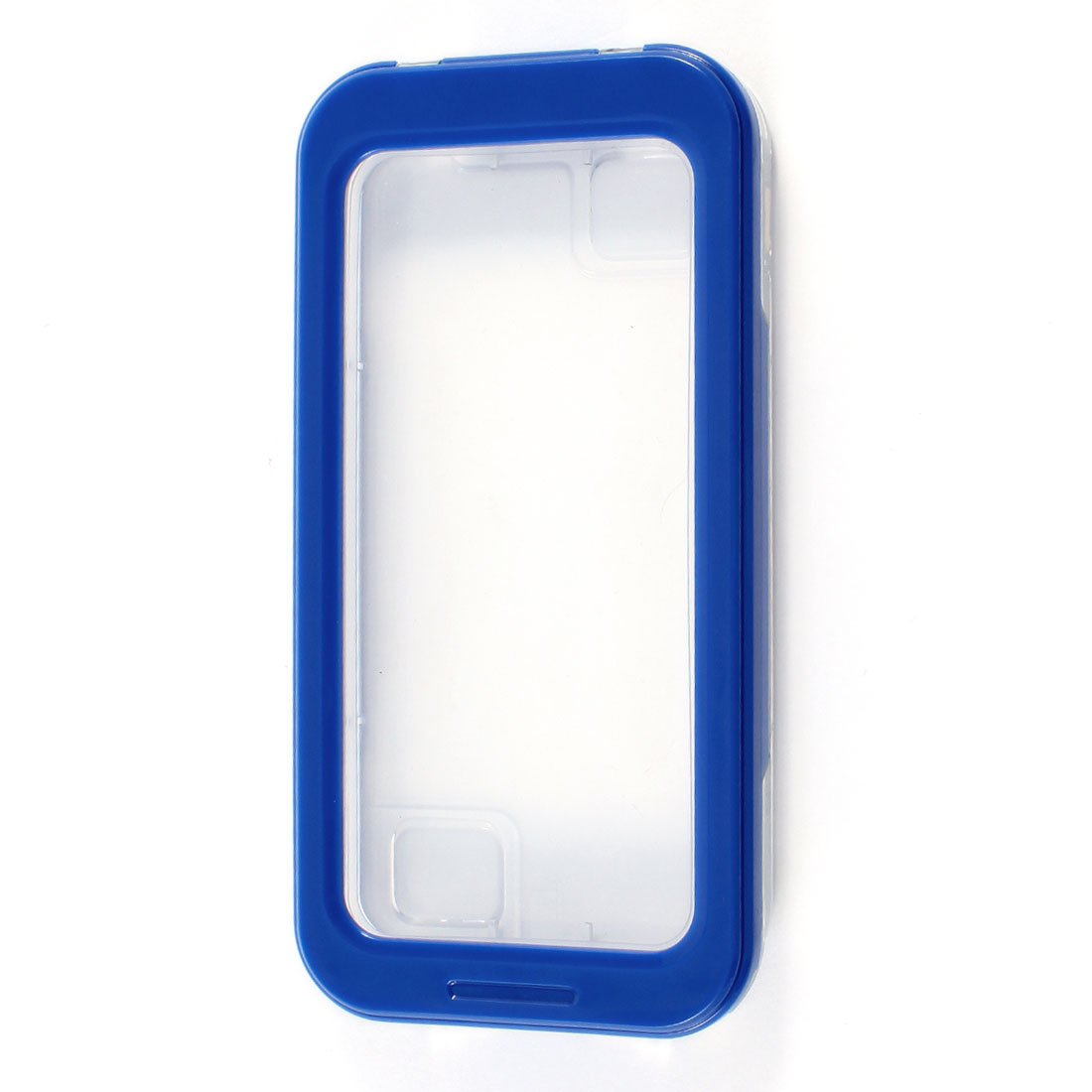Blue Waterproof Sandproof Dirt Proof Case for iPhone 4 4G 4S 5 5G 4GS w Strap