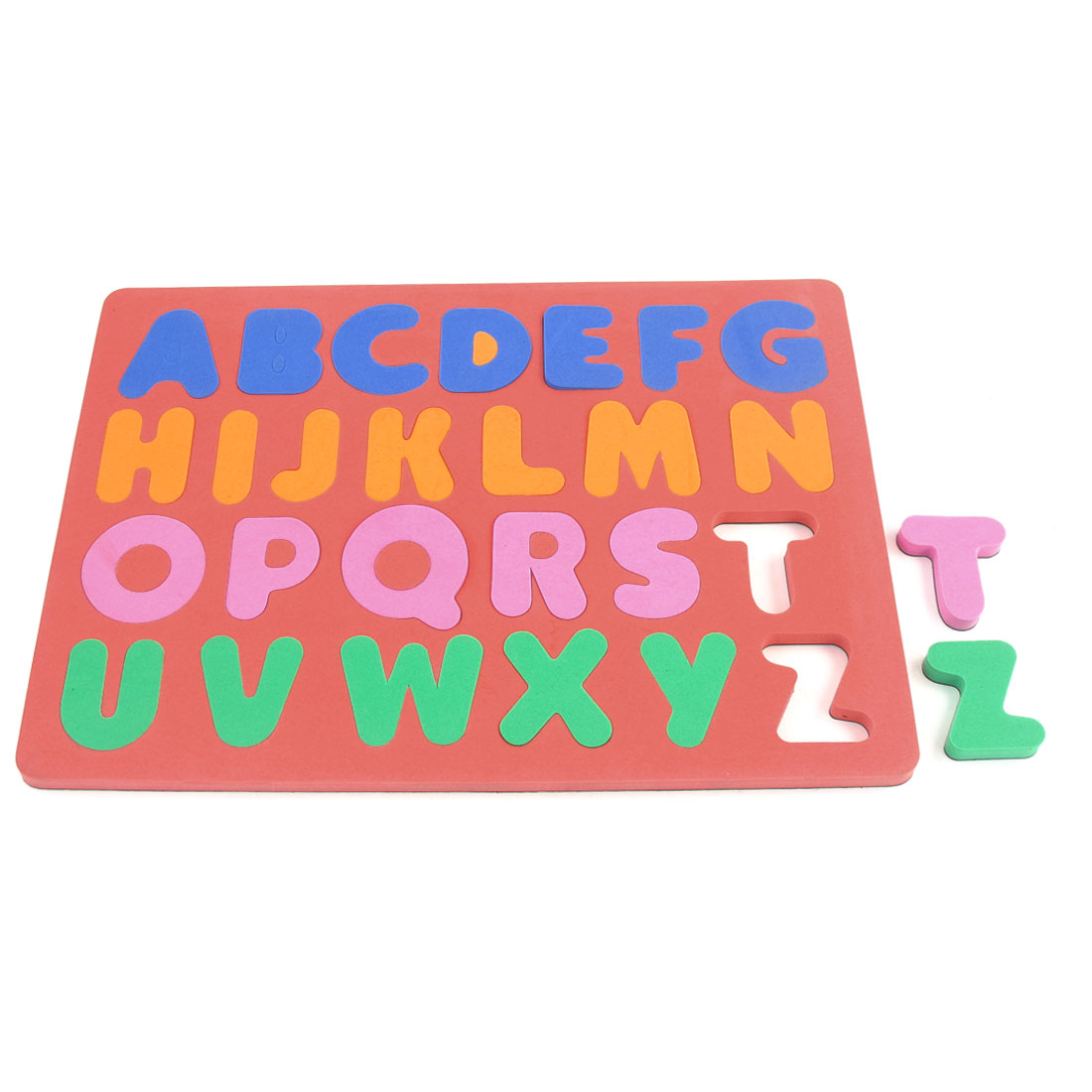 Child Foam 26 English Letters Education Magnetic Jigsaw Puzzle Watermelon Red