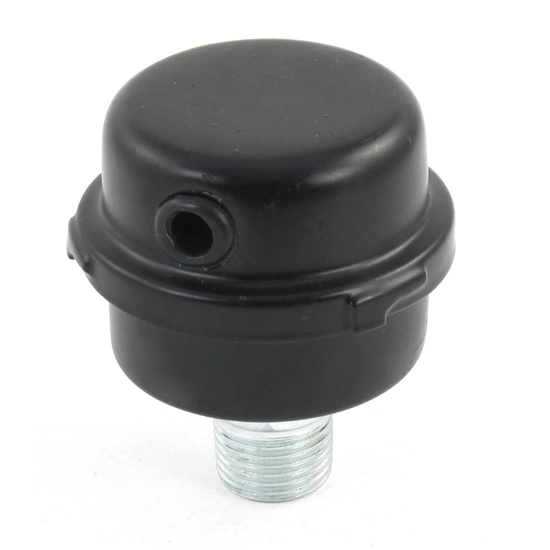 Compressor 20mm Dia Male Thread Air Intake Silencer Filter Black