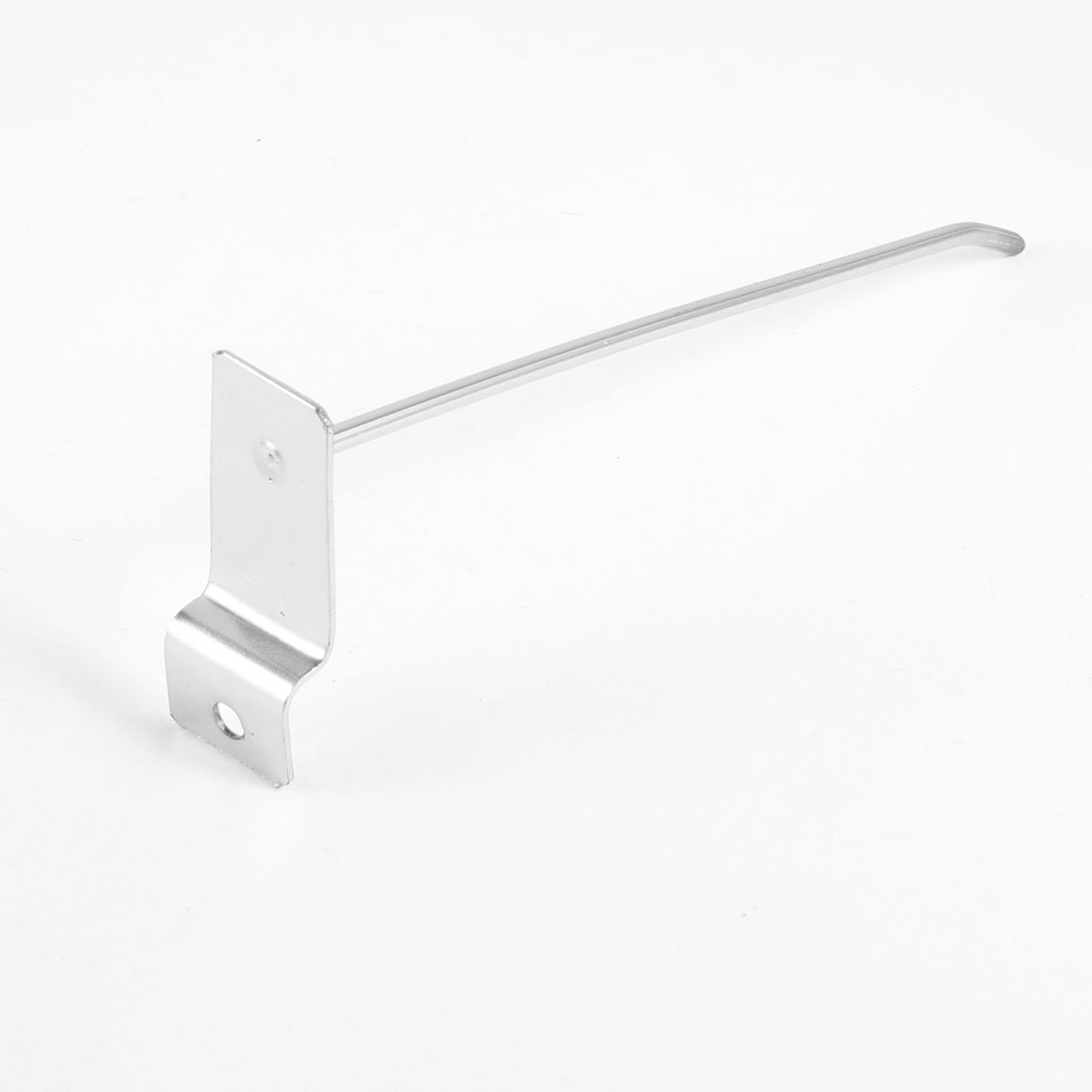 "Wall Board Shelf Rectangular Base Display Hooks 15cm 6"" Length"