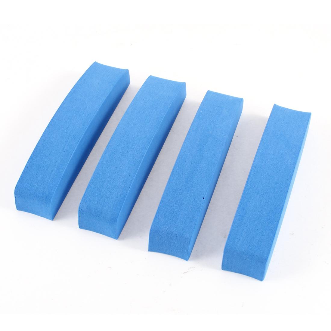Replacement Blue Foam Cars Trucks Door Bumper Guard Protective Sticker 4 Pcs