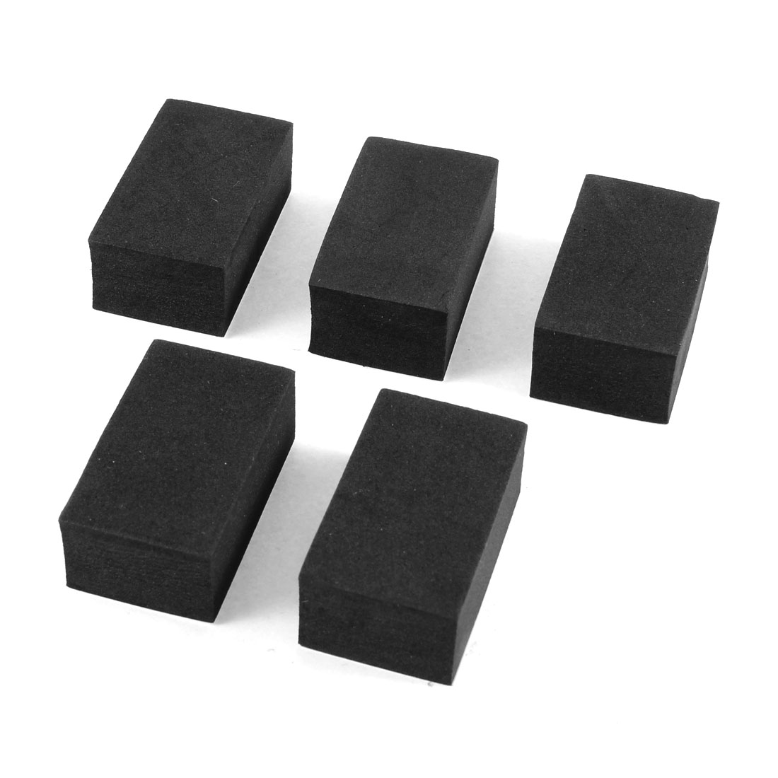 5 Pcs Foam Self Adhesive Car Auto Door Edge Guard Protectors Ornament Black