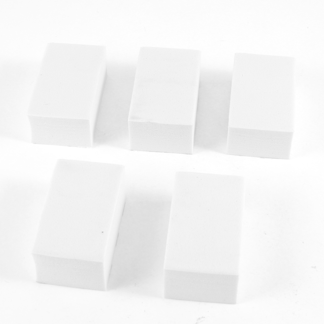 White Foam Cars Auto Door Defender Protector Trim Guard Stickers 5 Pcs