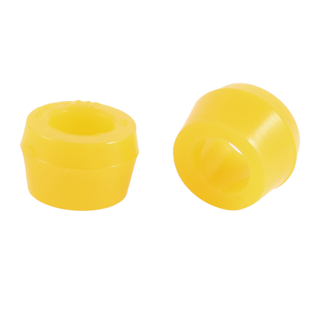 2 Pcs Auto Car Truck Shock Absorber Bushings 27mm x 16mm x 18mm Yellow
