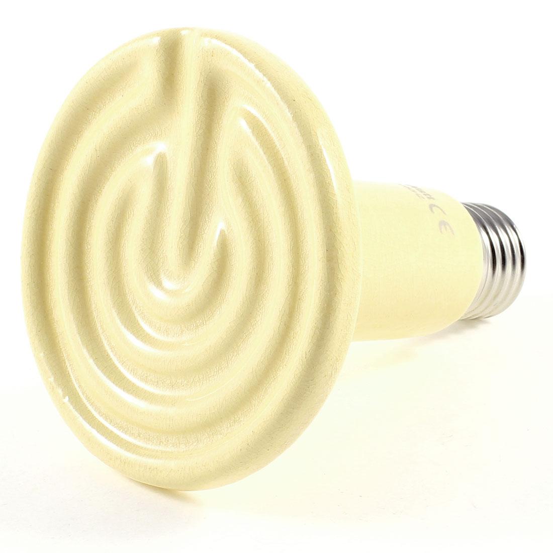 Fluker Reptile Ceramic Heat Emitter Heater Bulb 150W AC 220-240V Beige