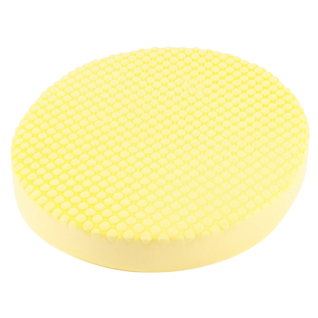 Makeup Removal Soft Sponge Clean Facial Washing Cleaner Powder Puff Pale Yellow