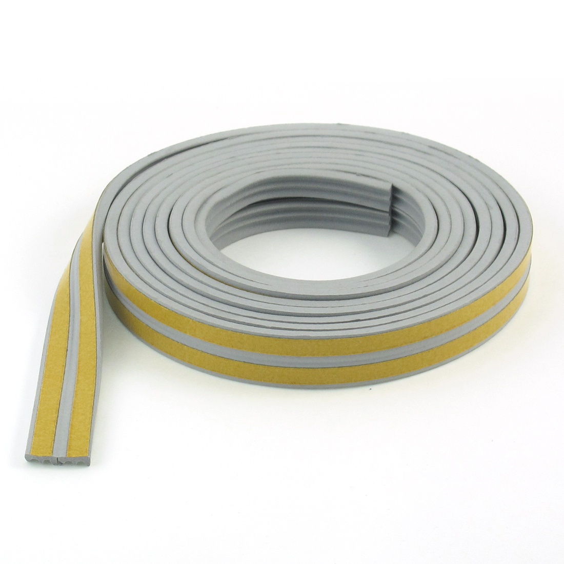Car Vehicle Foam Left Rear Door Window Glass Run Weather Strip Seal Gray