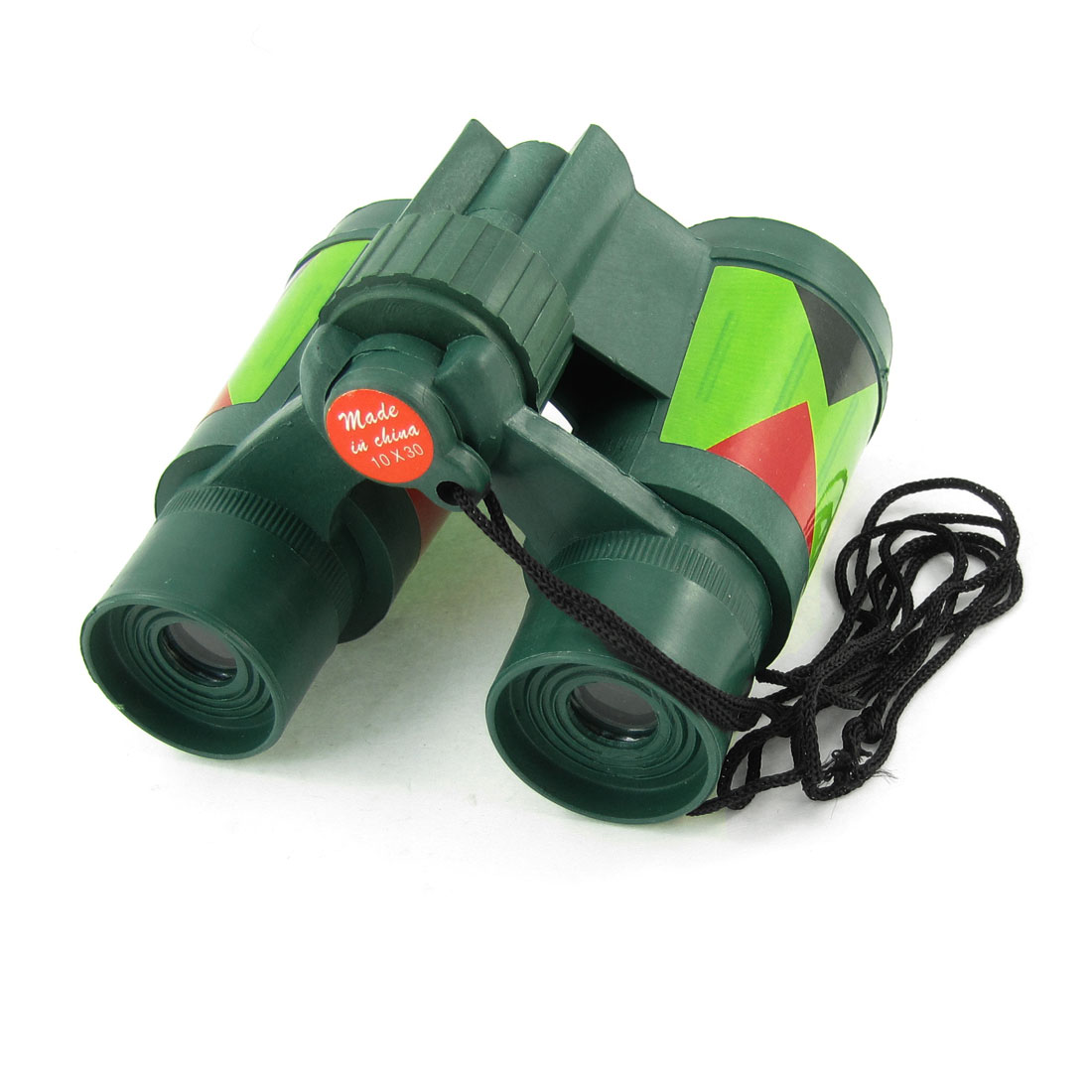 Kids Mini Camouflage Color Foldable 10x30mm Binocular Telescope Toy