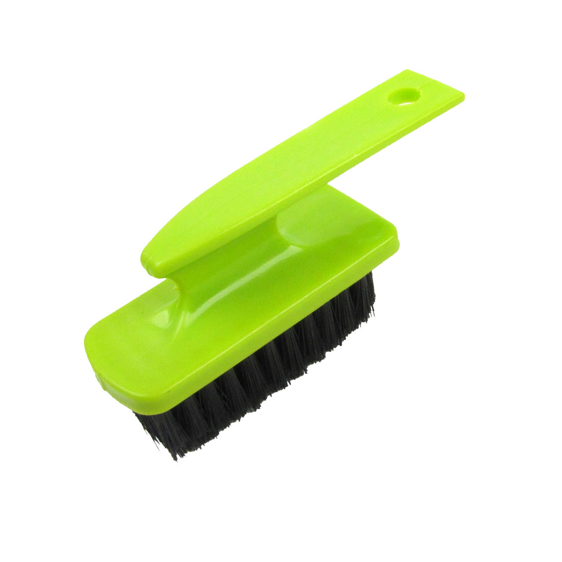 Green Plastic Handle Shoes Floor Clean Scrubbing Wash Brush Tool