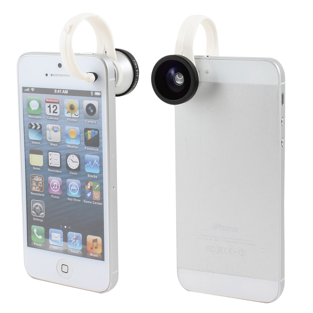 Detachable Clip 180 Degree Fish Eye Lens for Digital Camera Mobile Phone