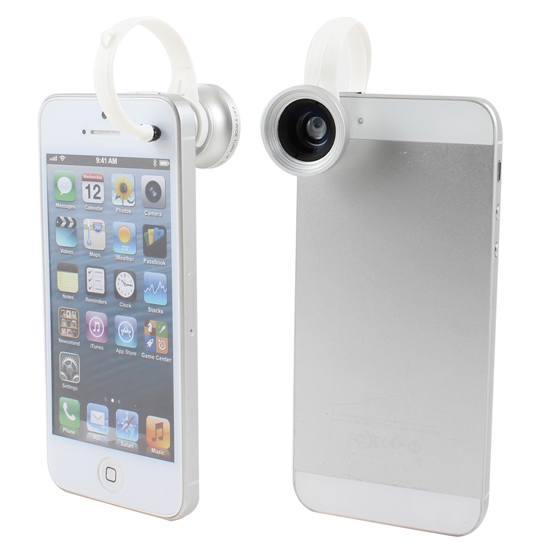 Detachable Clip 2 in 1 Wide Angle + Macro Lens for Digital Camera Mobile Phone