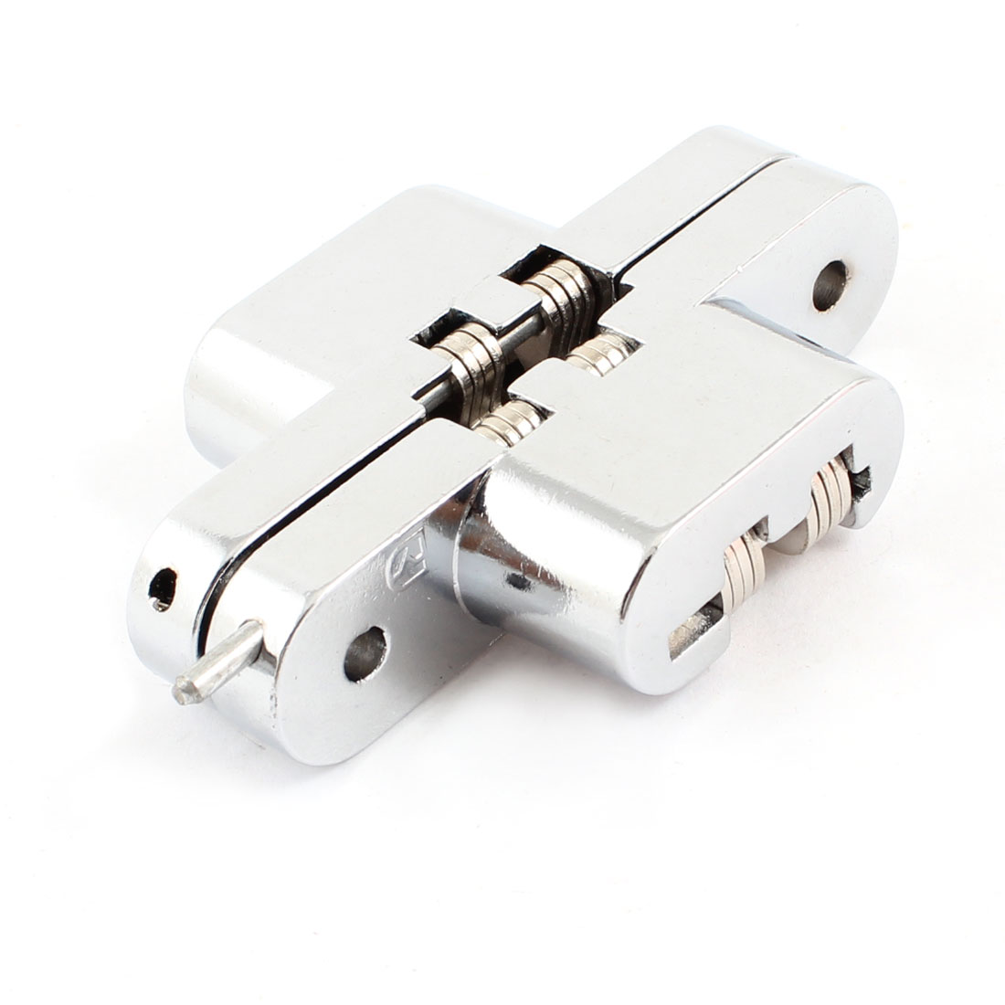 180 Degree Turning Concealed Cross Hinge 70mm Length for Furniture Door