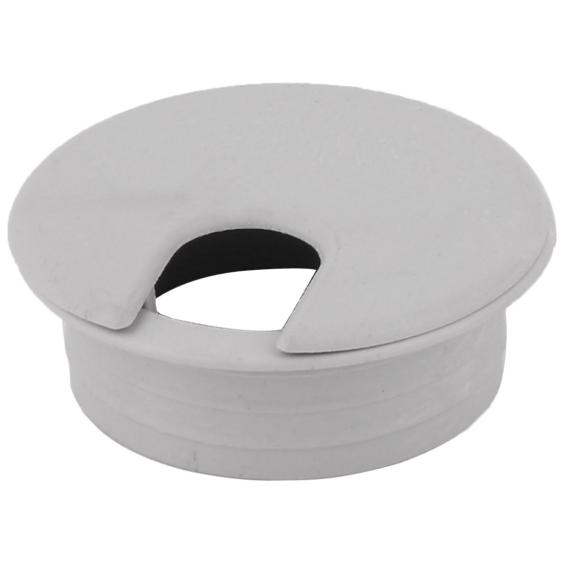 34mm Dia Round Plastic Grommet Cable Hole Covers for Computer Desk