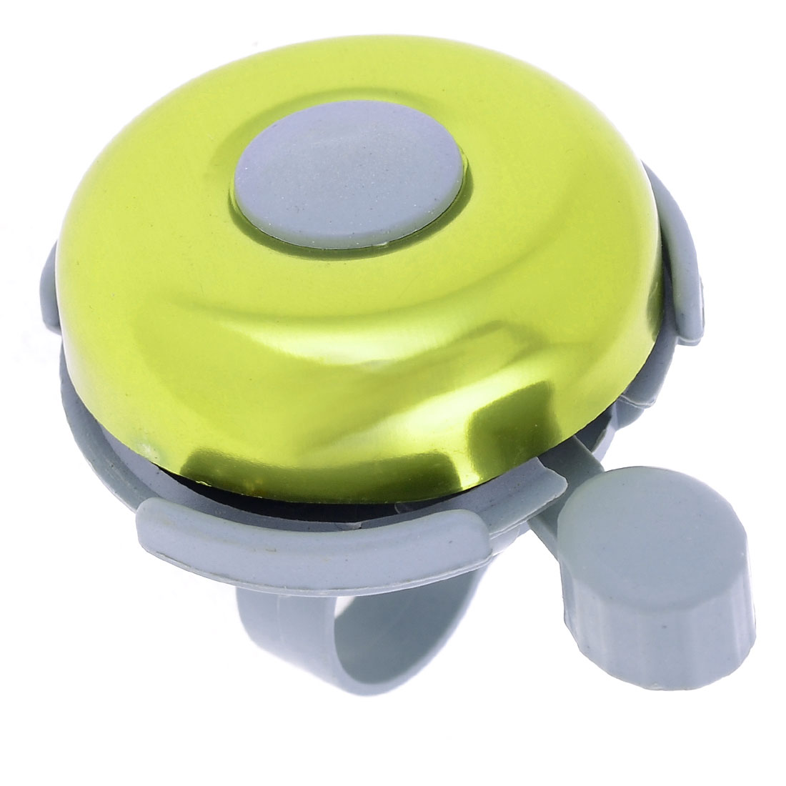 22mm Dia.Yellow Green Gray Round Shaped Alarm Bike Bicycle Bell
