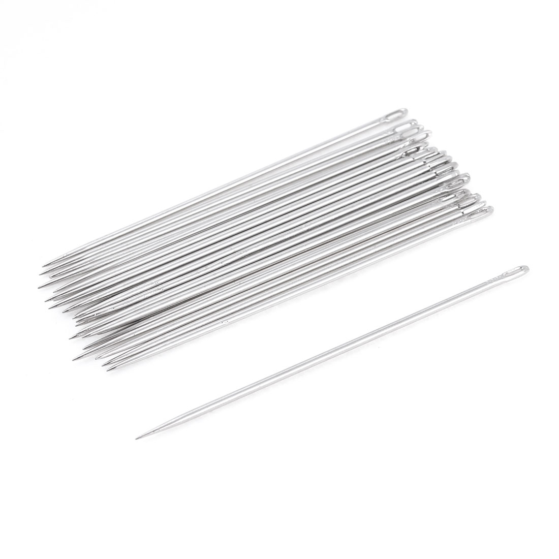 1.4mm Dia Sharp Tip Metal Tailor Sewing Needles 25 Pcs