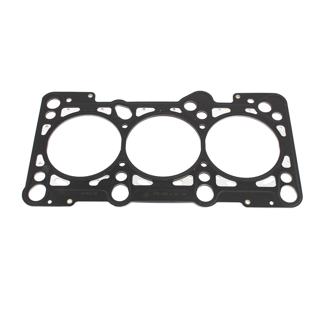 Auto Car Metal Silver Tone Black Cylinder Head Gasket 078103383K