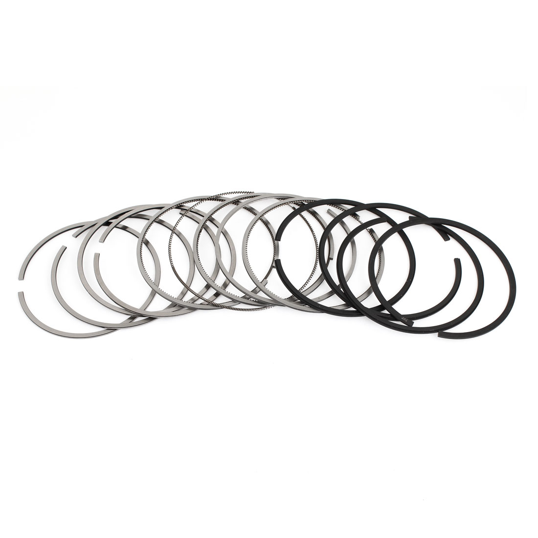 06B198151B 78mm Inner Diameter Piston Rings Set 12 Pcs for Auto