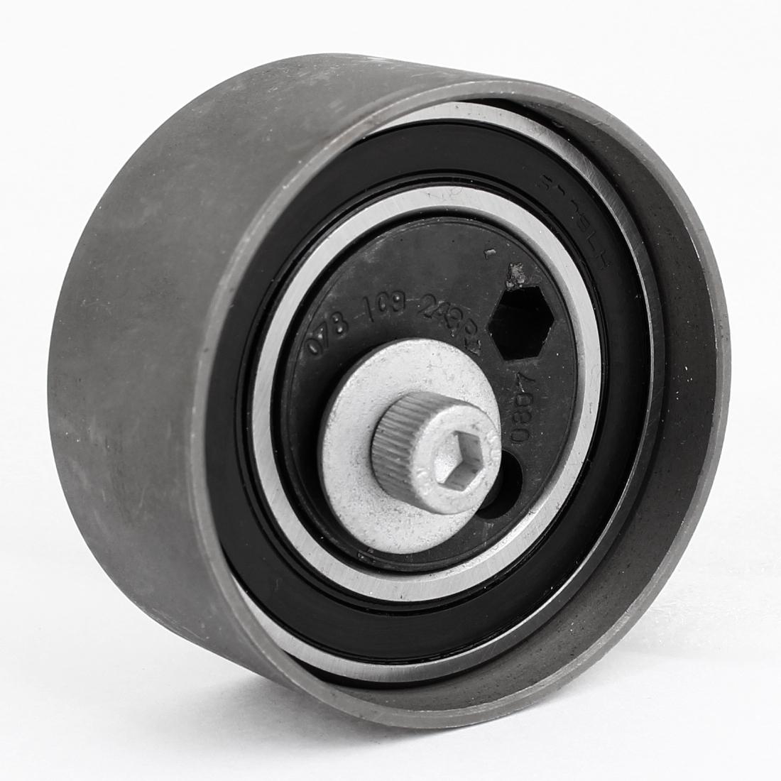 078109243R Vehicle Car 8mm Bore Dia Engine Timing Belt Tensioner Roller