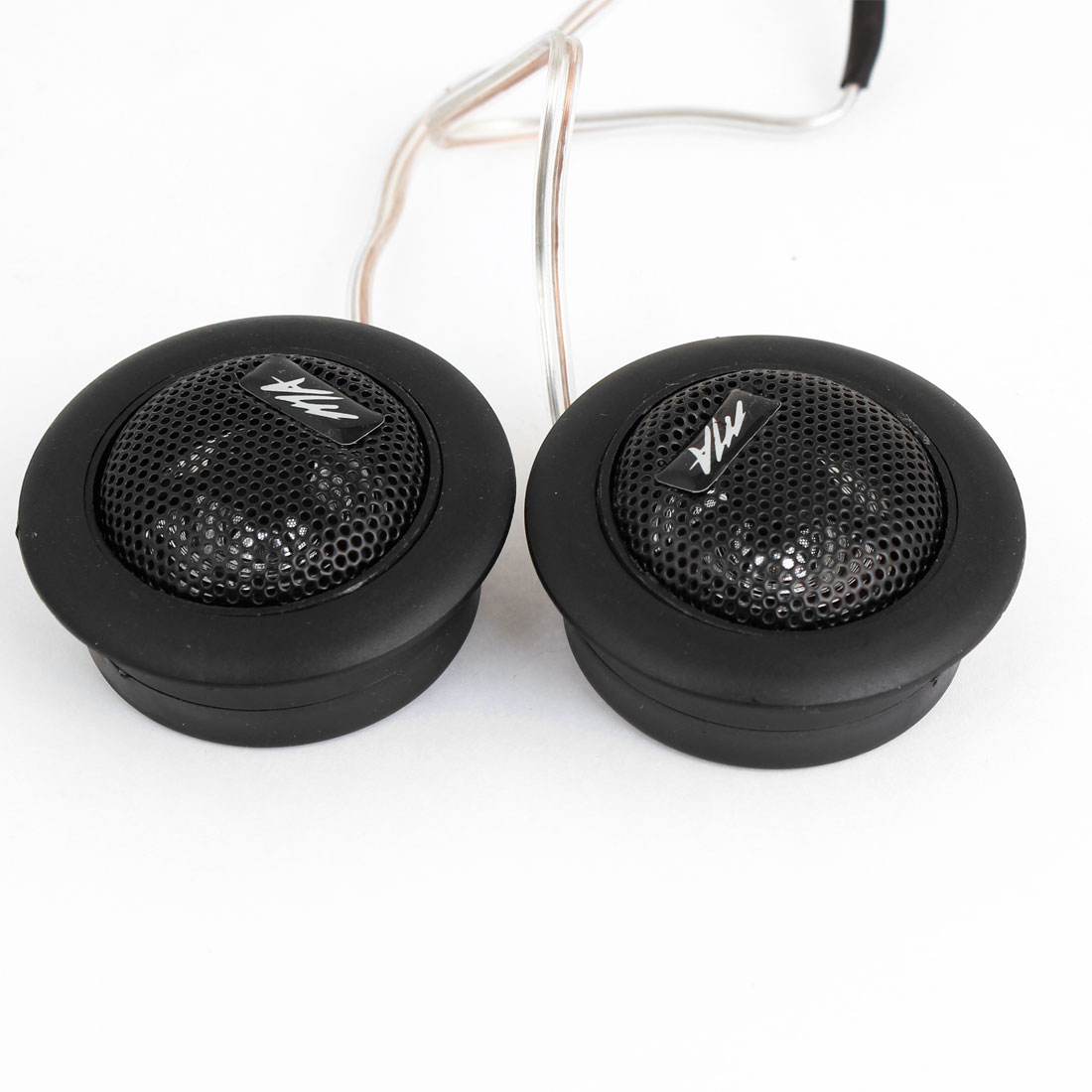 2PCS Pre-wired Dome Audio System Tweeter Speakers 120W for Auto Car