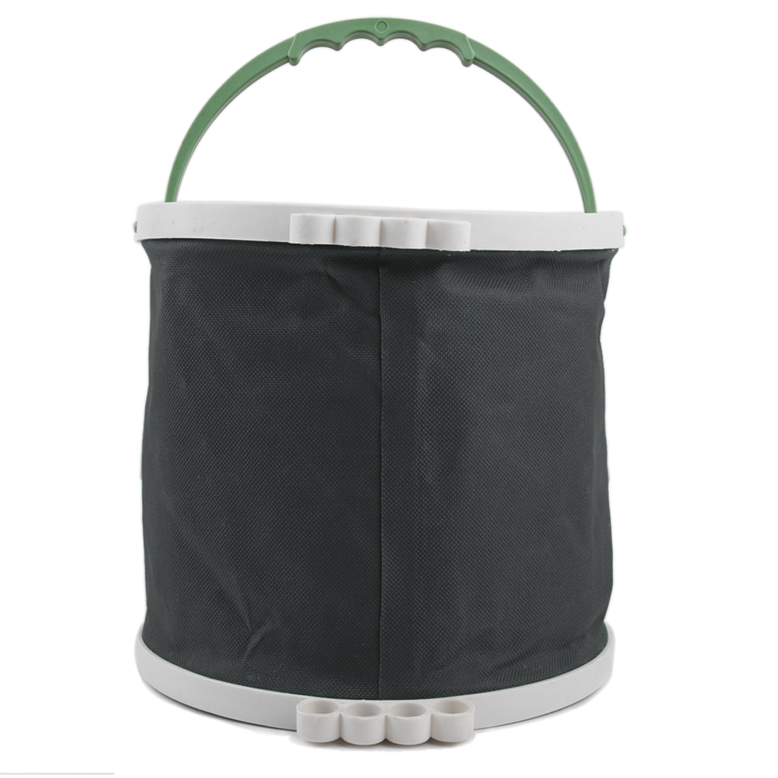 Gray Art Painting Brush Washing Foldaway Bucket Barrel Trash Bin Storage