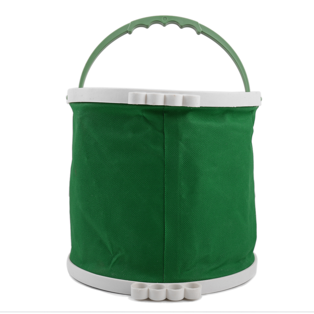Green Art Painting Brush Washing Foldaway Bucket Barrel Trash Bin Storage