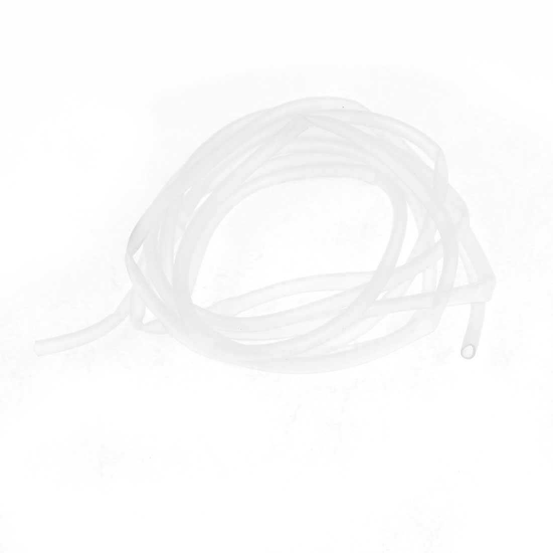 Solid Clear White Air Pump Oxygen Circulate Pipe 6.56 Ft for Aquarium