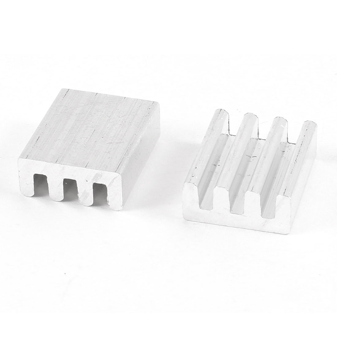 2 Pcs 17mm x 14mm x 6mm Aluminium Heatsink Radiating Cooler Cooling Fin