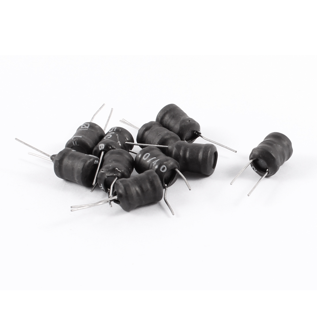 2MH 8mm x 10mm UL-polyolefin Metal Electronic Circuit Inductors 10 Pcs