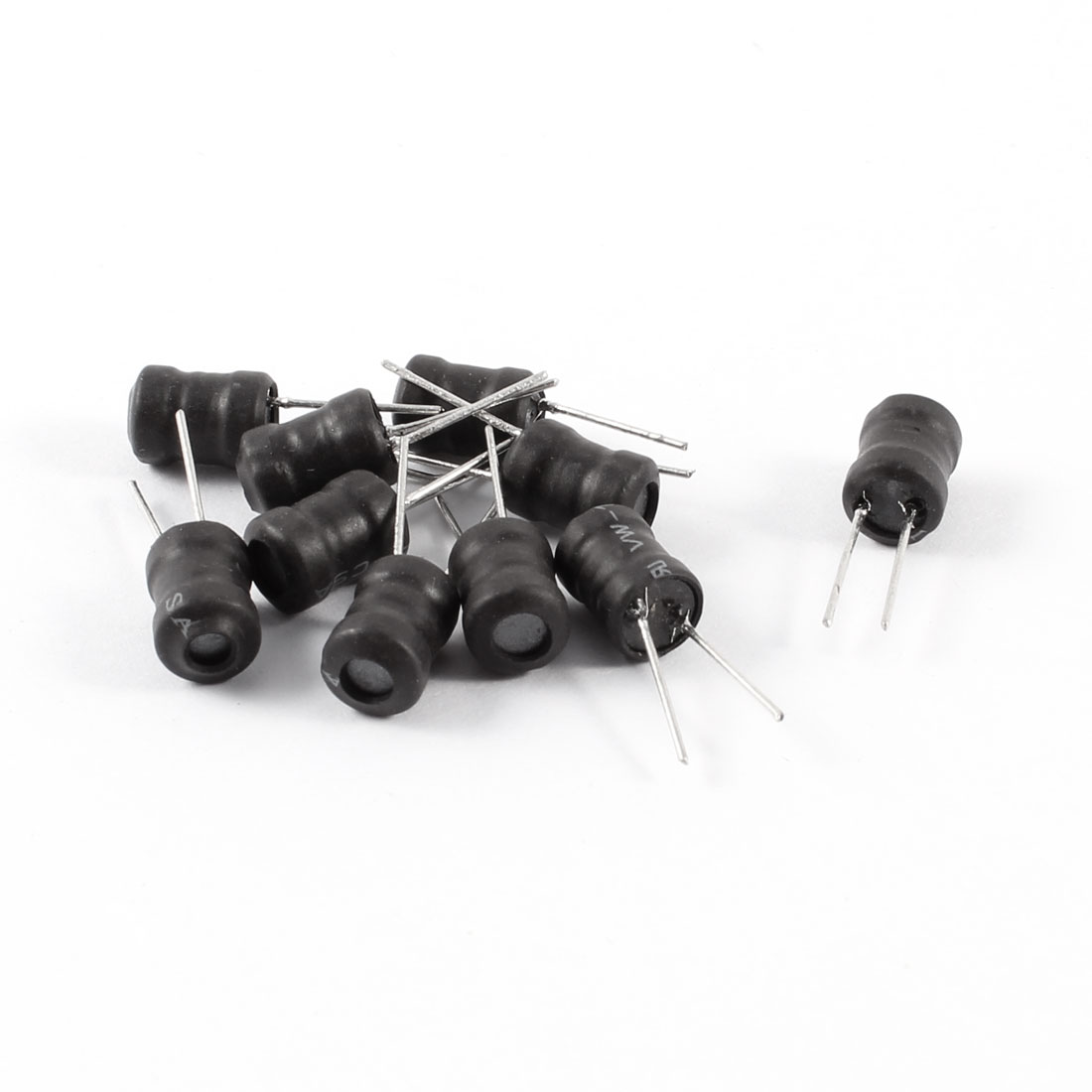 10 Pcs Magnetic Core 20MH Radial Leads 6x8 6mm x 8mm Inductors