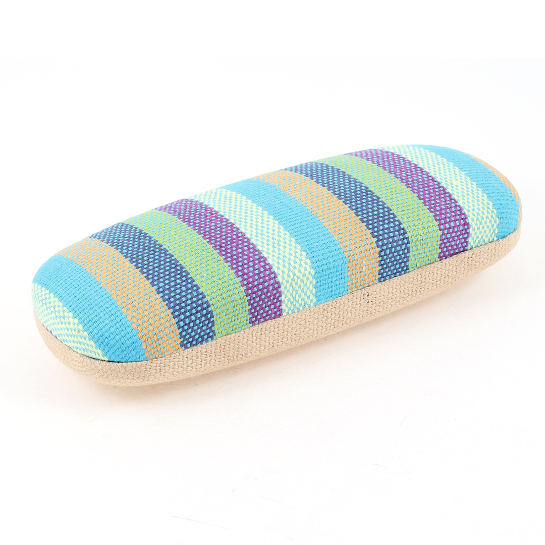Purple Blue Orange Textured Reading Glasses Eyeglasses Case Box