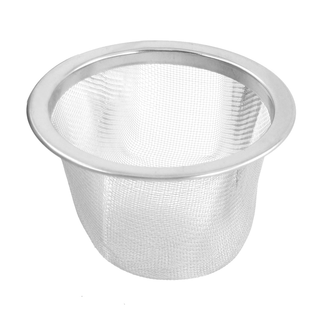 63mm Outer Dia Stainless Steel Mesh Tea Leaves Spice Strainer Basket