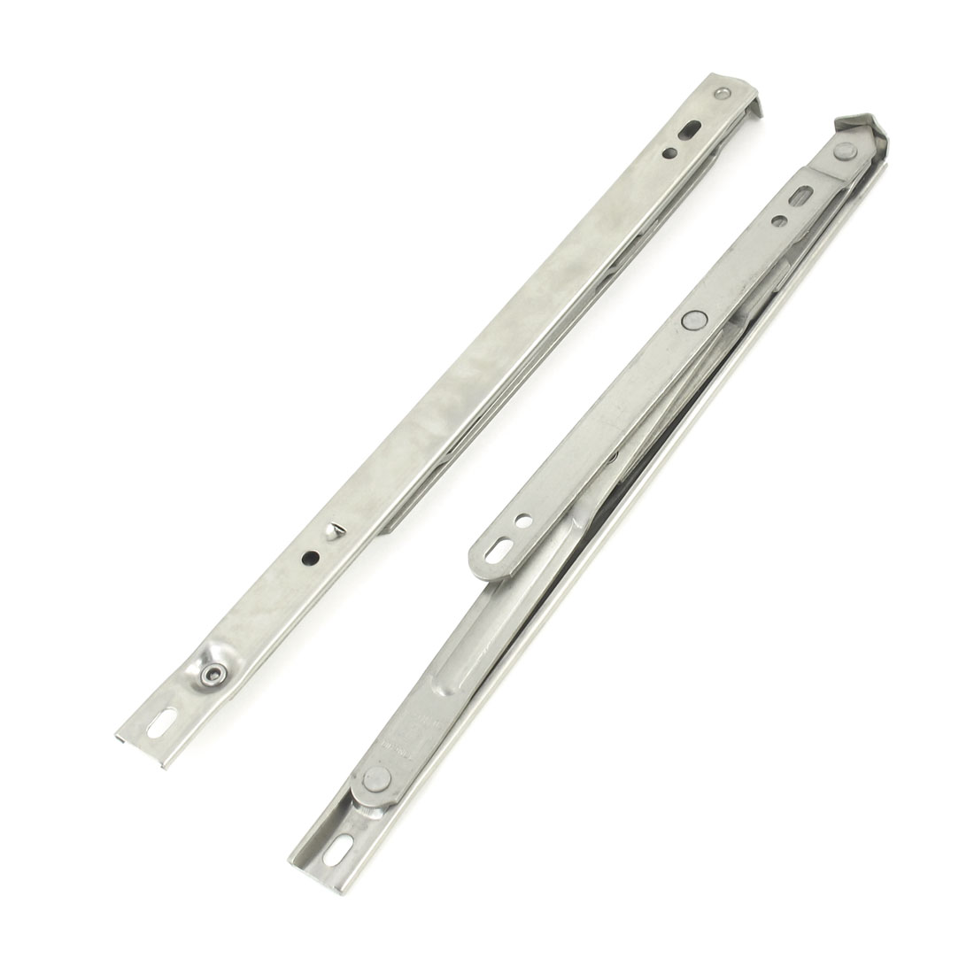 "2 Pcs Stainless Steel 12"" 300mm Long Side Hung UPVC Window Friction Hinges"