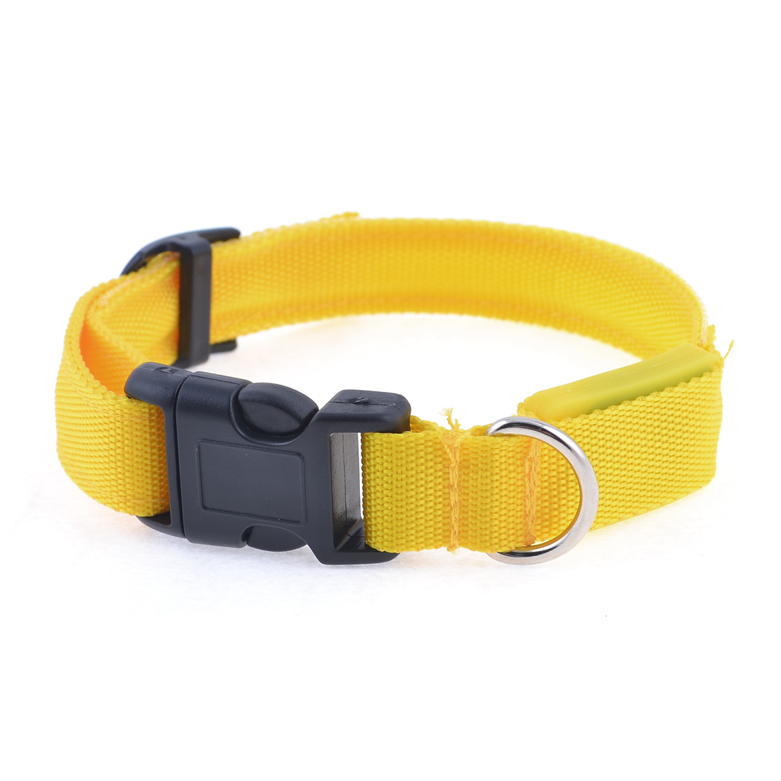 Release Buckle Yellow LED Flash Light Leash Rope Strap for Puppy Dog Pet