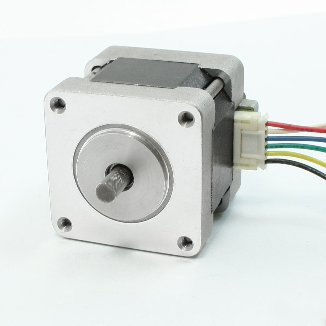 1000RPM Rotary Speed 0.8A 2kg.cm Torque 6 Wire 5mm Drive Shaft Stepping Motor