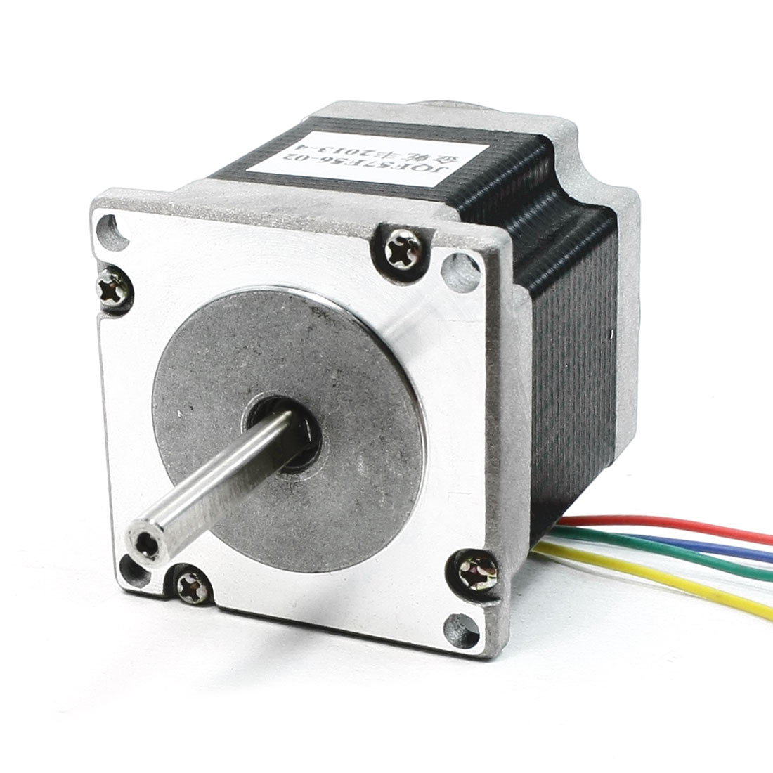 2 Phase 6.5mm Single Shaft JQF57Y56-02 Model Stepper Stepping Motor 2A