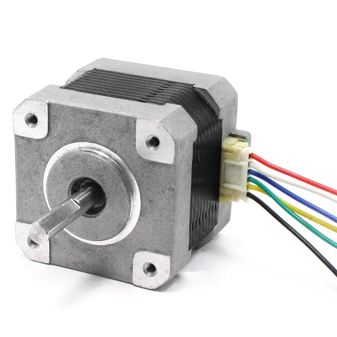 1000RPM Rotary Speed 1.2A 2.6kg.cm Torque 6 Wire 5mm Drive Shaft Stepping Motor